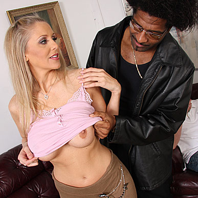 son watches his busty mom getting banged by a hung black from Watching My Mom Go Black